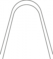 Stainless Steel Archwire, Pro Form Arch Shape